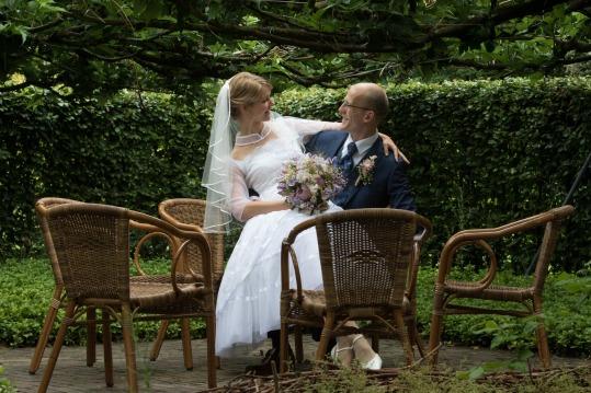 bruiloft zitje