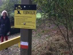 Pieterpad nabij Verwolde